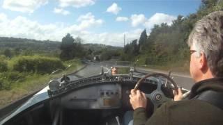 Drive in a Jaguar C Type