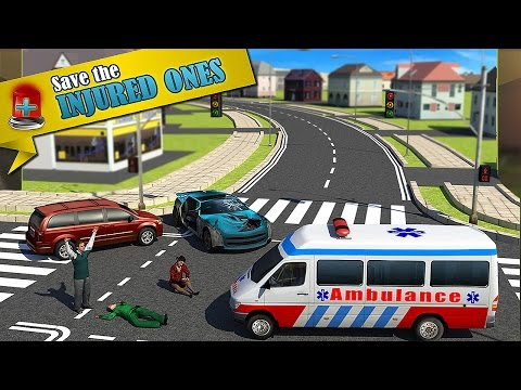 Ambulance Rescue Simulator 3D - Gameplay Android [1080p]