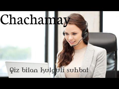Operator Qiz bilan kulguli suhbat