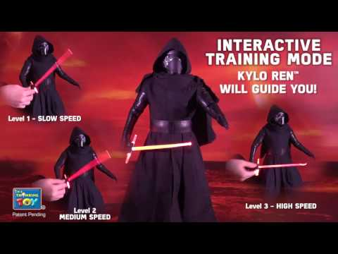 Star Wars The Force Awakens - Kylo Ren Animatronic Interactive Figure | Toys R Us Canada