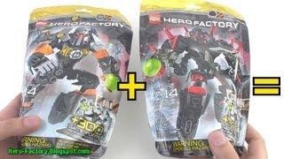 Hero Factory Bulk + Core Hunter combiner Speed Build (Breakout wave 2)