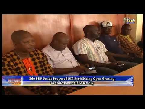 Edo PDP sends proposed bill prohibiting open gazing to EDHA
