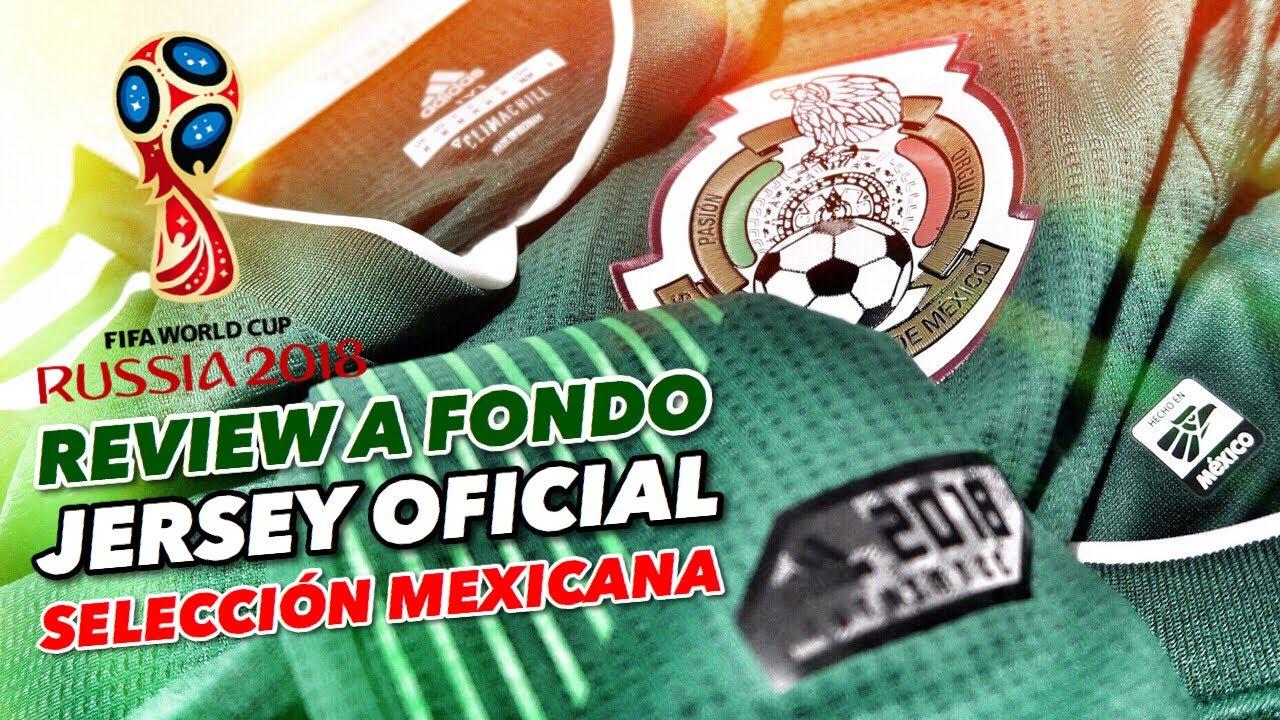 JERSEY OFICIAL SELECCIÓN MEXICANA  5d0d3fd5331