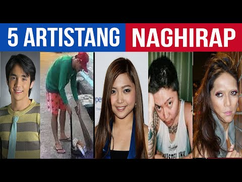 5 SIKAT na Celebrity Noon MAHIRAP Na Ngayon