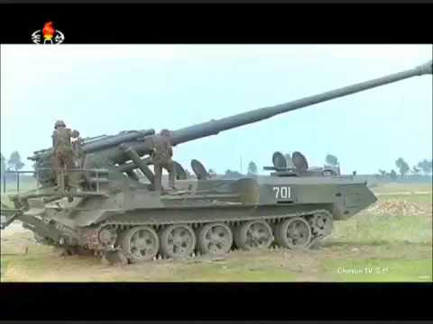 KCTV - North Korea Military Exercises 2017 [480p]