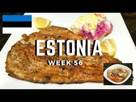 Second Spin, Country 56: Estonia [International Food]