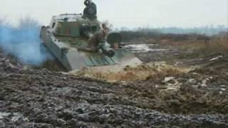 2S1 Gvosdika Tank Driving