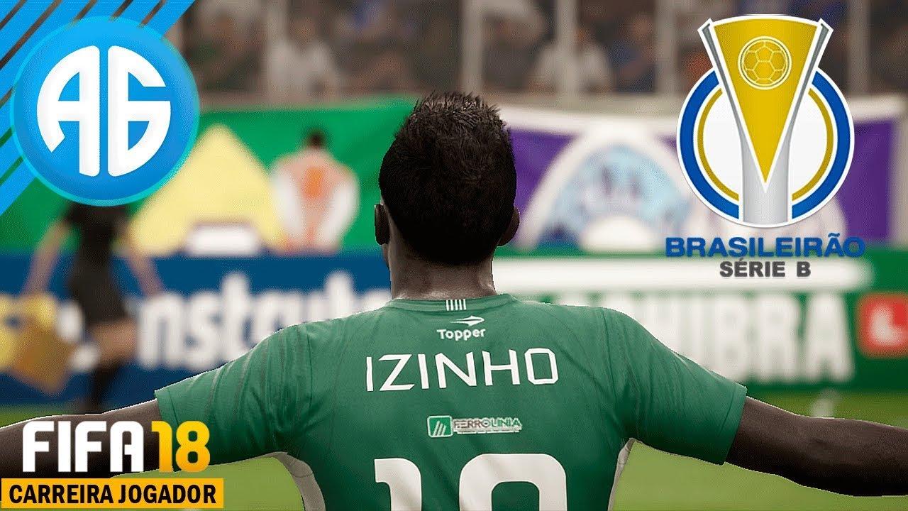 FIFA 18  1 CARREIRA COMO JOGADOR - O INÍCIO DO BRASILEIRÃO DA SÉRIE B  (Português-BR) 00aed86c06f63