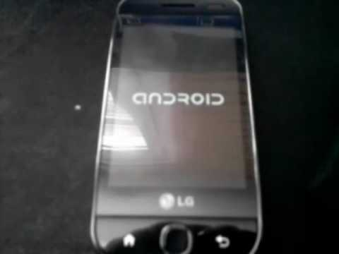 android 1.6 on lg gw620