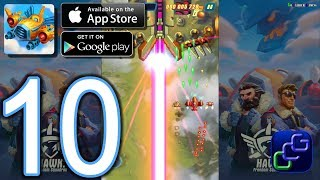 HAWK Freedom Squadron Android iOS Walkthrough - Part 10 - Stages 28-30 EASY, 11-15 HEROIC
