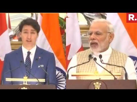 PM Narendra Modi Speech |  India-Canada Joint Statement
