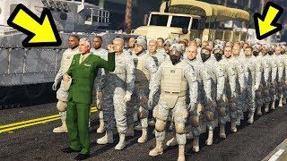GTA 5 - Playing as the Army! (very powerful)