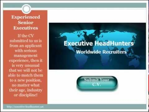 Executive headhunters Job Search and Recruiters