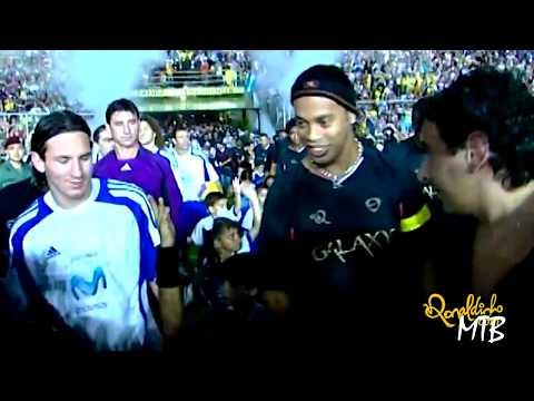Messi Vs Ronaldinho Show ►Charity Game 2008