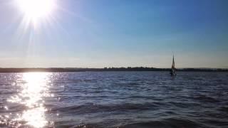 Evening Sail on Cornwallis River-Annapolis Valley, Nova Scotia