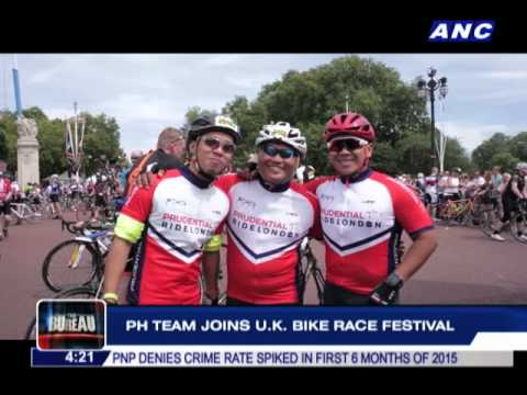 PH team joins UK bike race festival