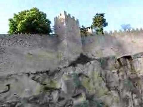 San Marino - City Walls