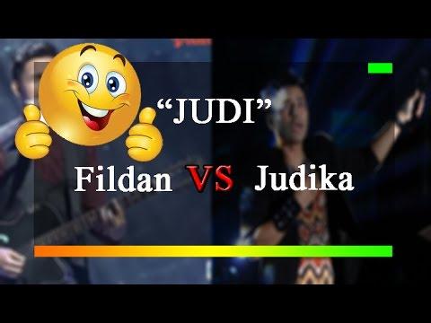 LUAR BIASA!!! JUDI-FILDAN Bau Bau VS Judika #keren banget