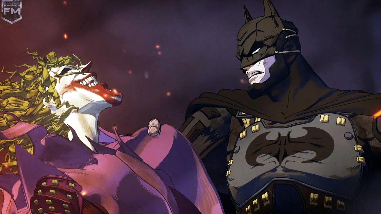 Ninja Batman Vs Joker Part 2 Batman Ninja Youtube