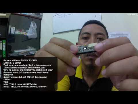 Unboxing Node MCU Amica ESP8266 CP2102 Indonesia 20190707