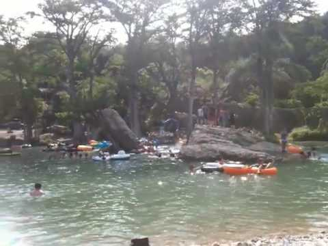Concan Texas Frio River Swimming Hole  YouTube
