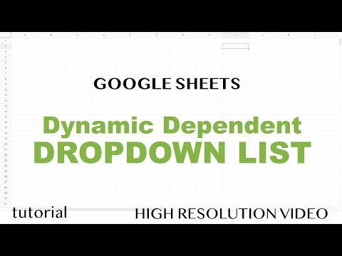 Google Sheets - Dynamic Drop Down Based On Another Cell & Multiple Selections Updated Automatically