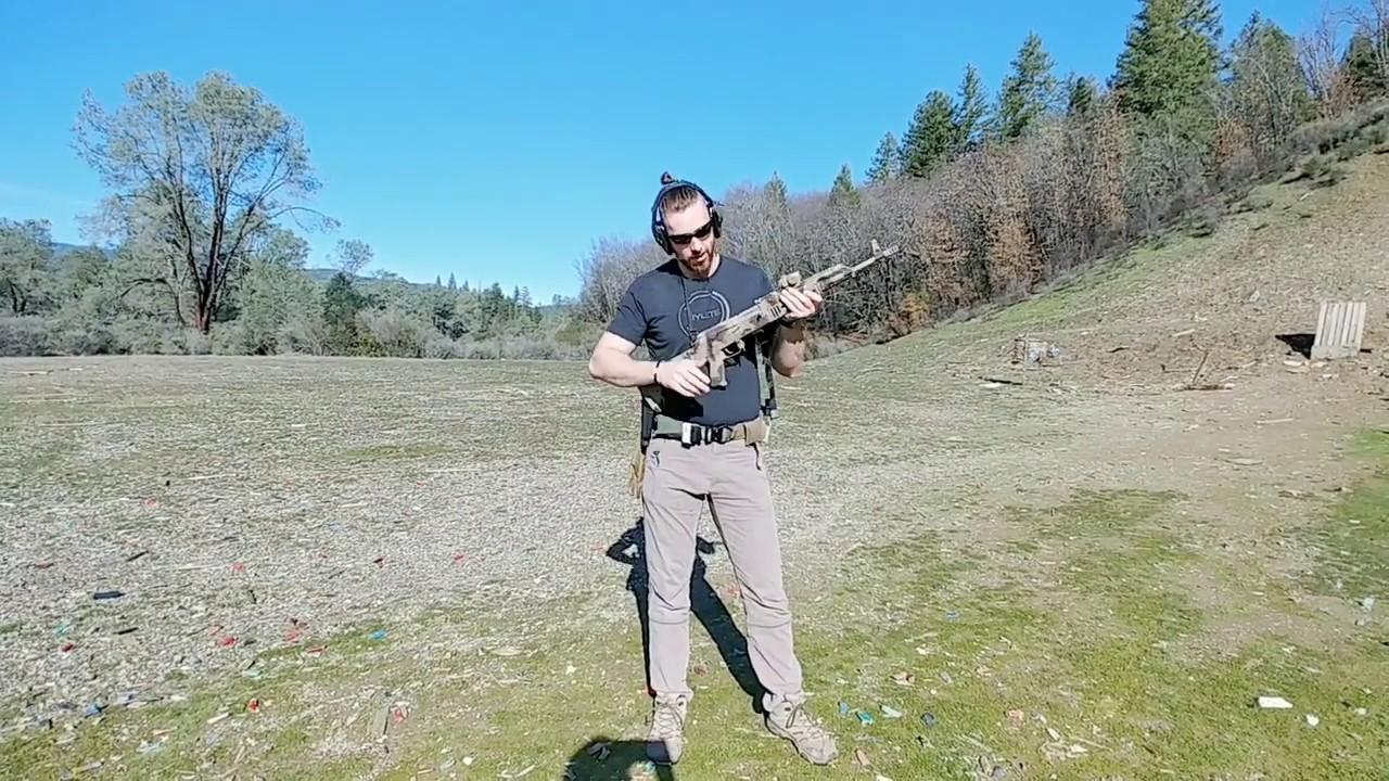 Clearing an AK Platform Rifle