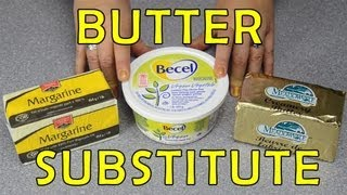 Butter Substitute: Baking Quick Tip from Cookies Cupcakes and Cardio