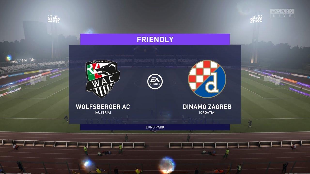 Fifa 21 Wolfsberger Ac Vs Dinamo Zagreb Uefa Europa League 26 11 2020 1080p 60fps Youtube
