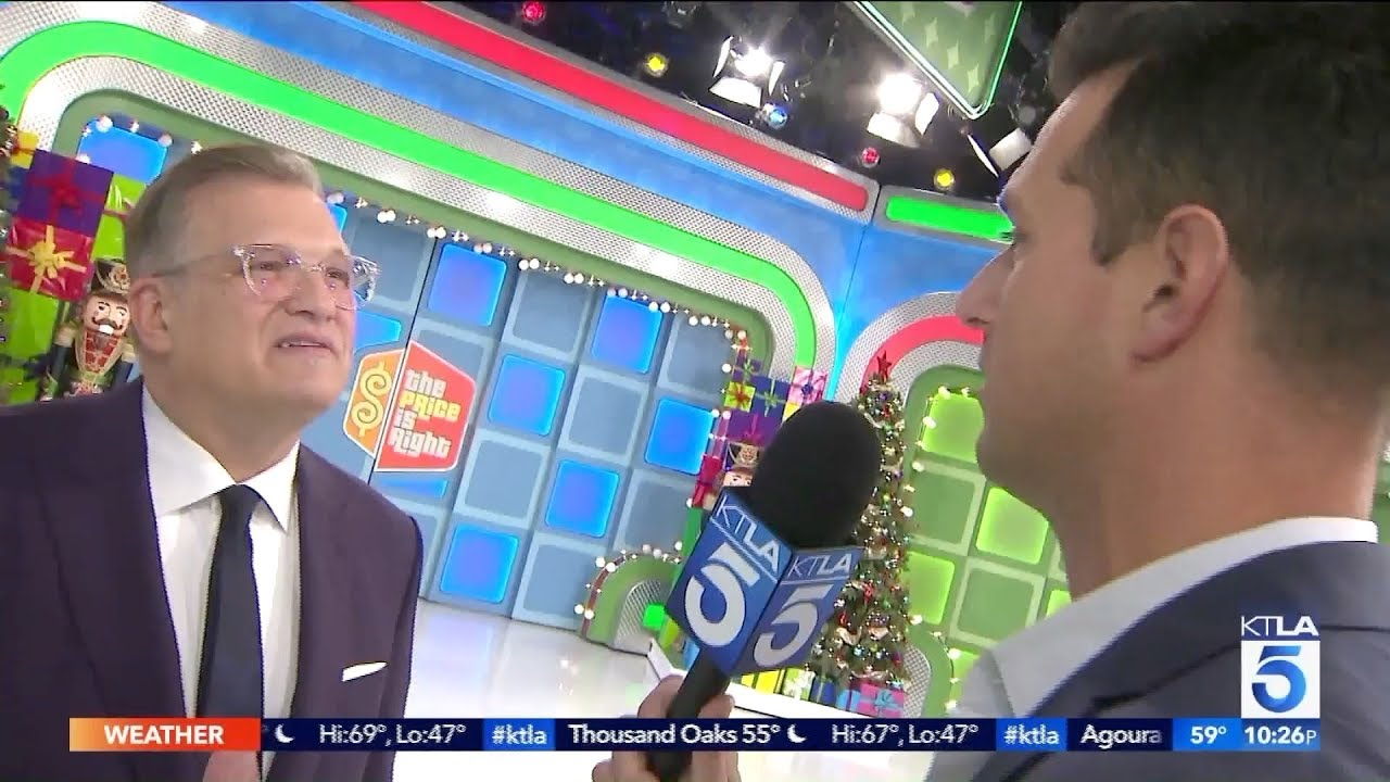 Behind The Scenes At The Price Is Right On Ktla 5 Los Angeles Youtube