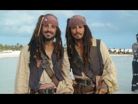 Pirates of the Caribbean, Johnny Depp, Stunt Double