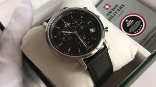 видео Швейцарские часы с хронографом