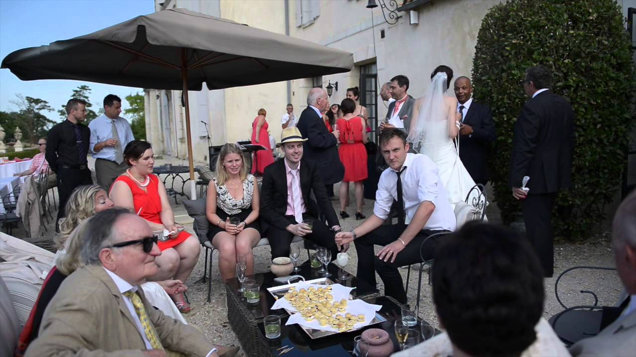 video mariage prs bordeaux nathalie patrick par nays capdepon youtube - Chateau Lantic Mariage