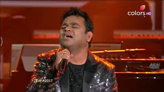 A.R Rahman ¦¦ Enna Sona Full Song || IIFA Rocks 2017
