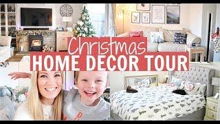 CHRISTMAS HOME DECOR TOUR 2019 | Alex Gladwin