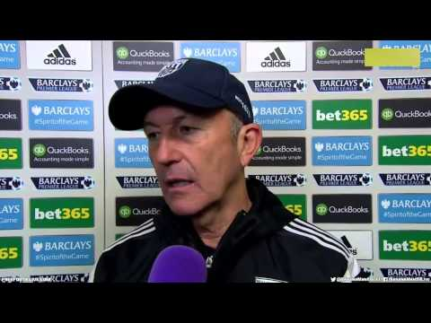 West Brom 3 - 0  Chelsea Tony Pulis Post Match Interview