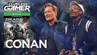 "Clueless Gamer: ""Gears Of War 4"" With Wiz Khalifa  - CONAN on TBS"