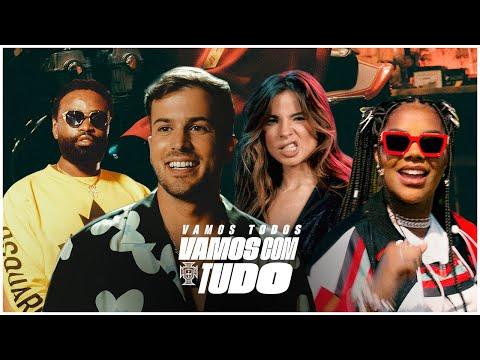 Смотреть клип David Carreira X Seleção Ft. Ludmilla, Giulia Be & Preto Show - Vamos Com Tudo