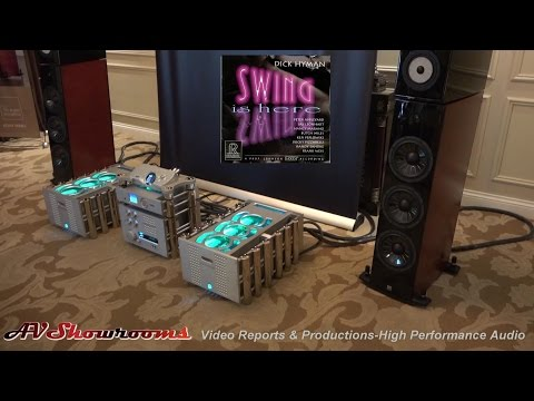 Chord amplifiers and electronics, Vienna Acoustics loudspeakers, Kubala Sosna, CES