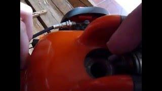 Jak nastartovat - opravit sekačku, křovinořez. 3