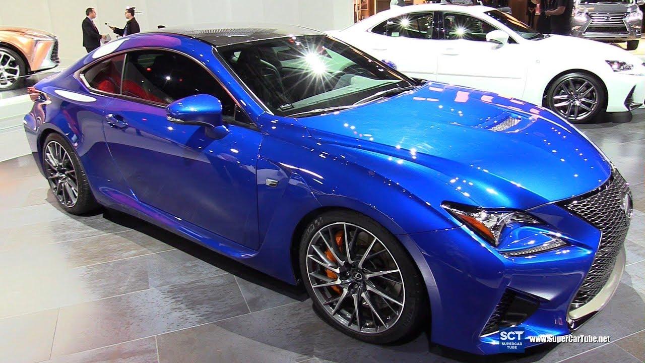 2018 Lexus Rc F Exterior And Interior Walkaround 2018 Detroit