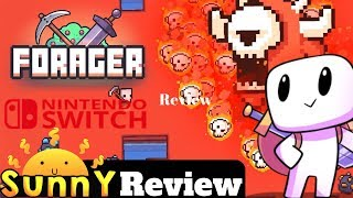 Forager Nintendo Switch Review | Stardew Valley Meets Zelda? (Video Game Video Review)