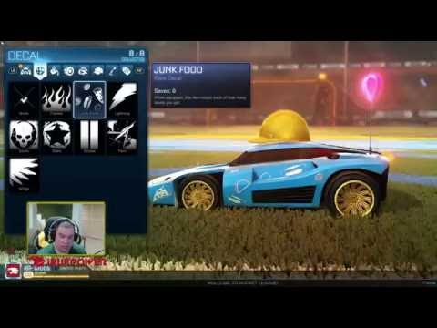 Rocket League New Item Trading System!