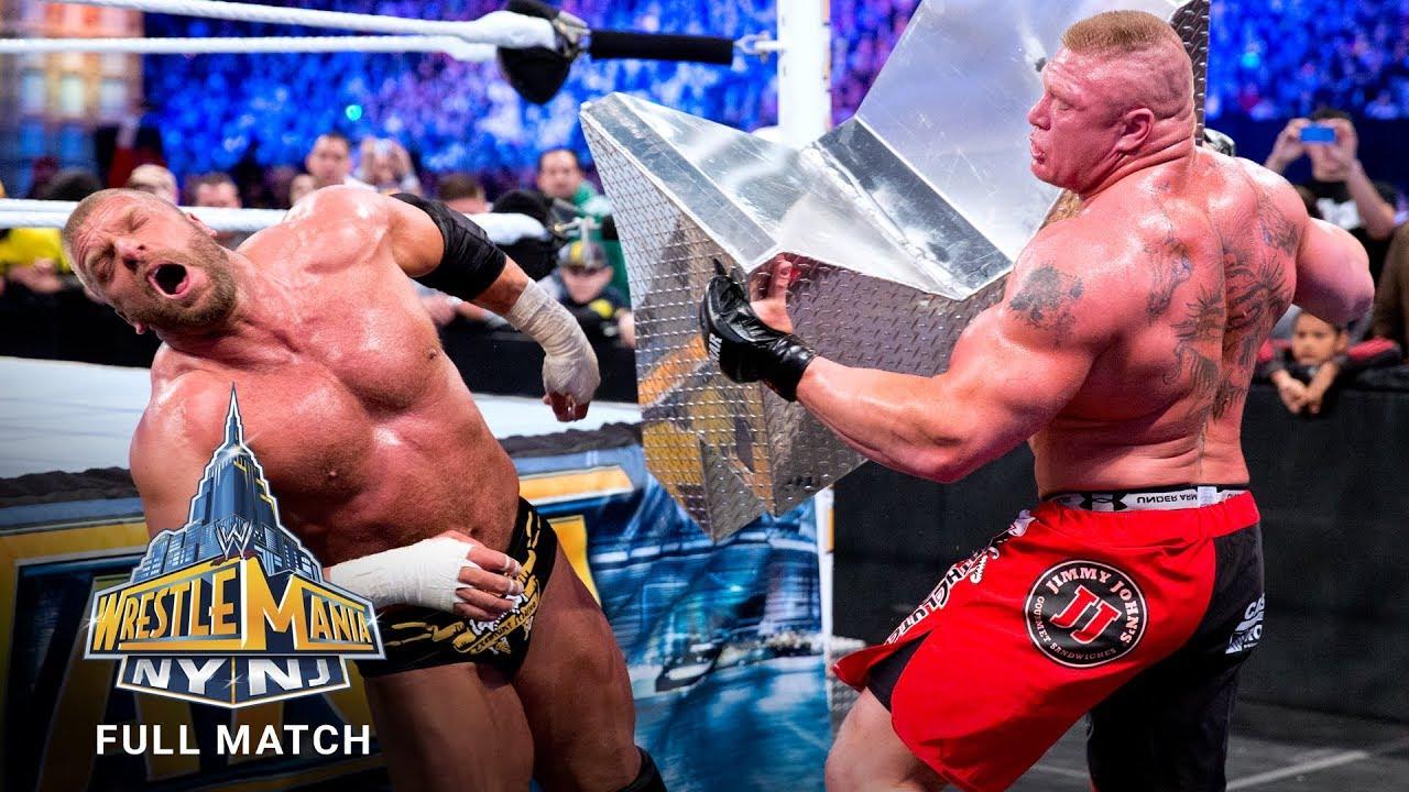 Download FULL MATCH - Triple H vs. Brock Lesnar – No Holds Barred Match: WrestleMania 29