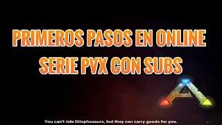 🔴 ARK MOBILE SERIE ONLINE PVX! PRIMEROS PASOS! #1