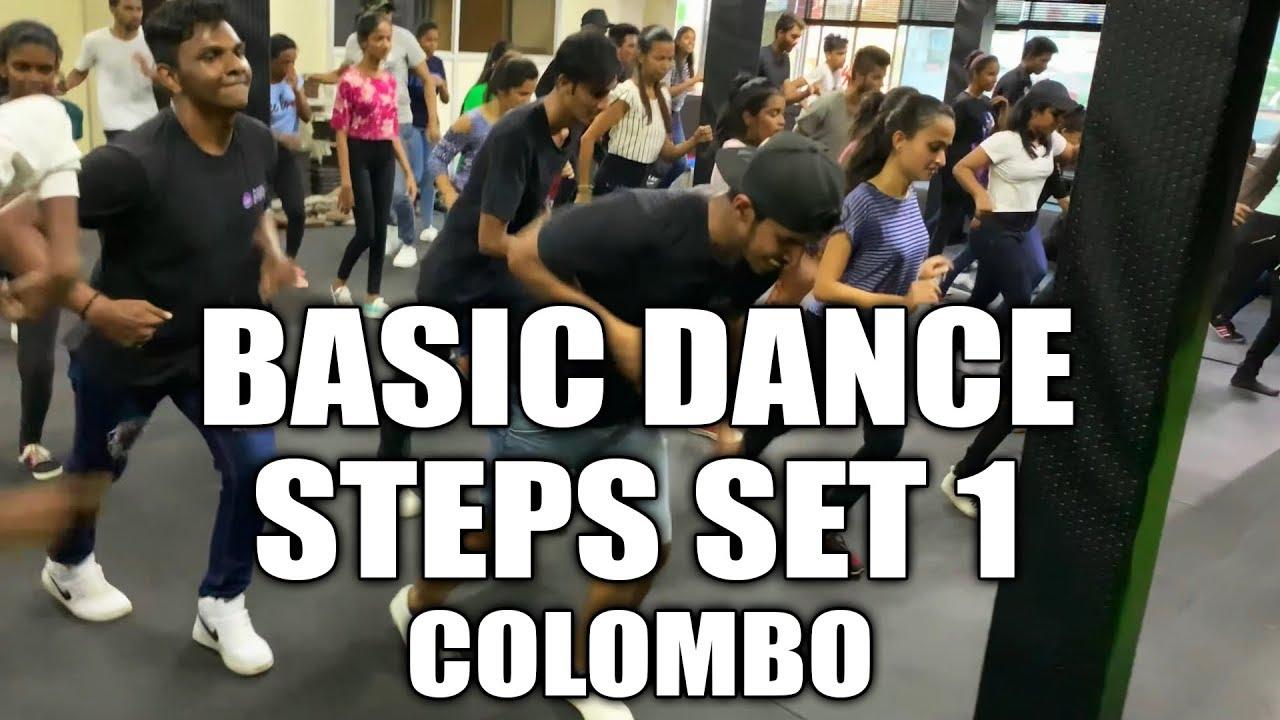 Download BASIC DANCE STEPS SET 1 | COLOMBO | COOL STEPS DANCE STUDIO | RaMoD Choreography