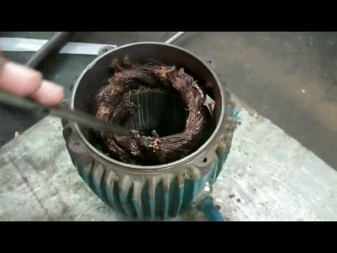 Rewinding of Three phase Motor Part 1