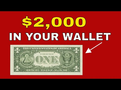$1 Bill Worth Great Money In Your Change