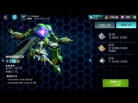 Rank 2 Four Star Waspinator - Transformers: Forged to Fight