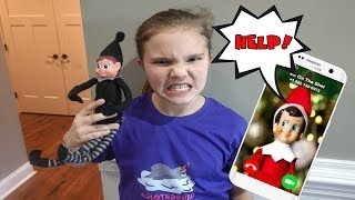Save The Elf Oฑ The Shelf Part 2! Mean Elf On The Shelf Took Ellie!